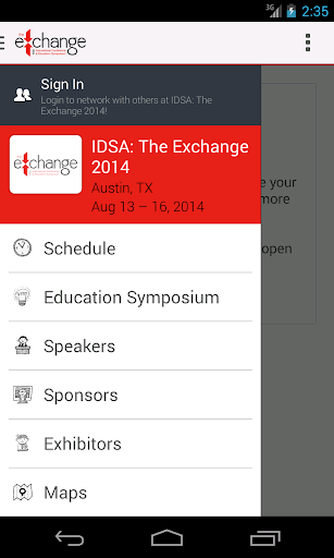 IDSA: The Exchange 2014