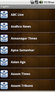 Indian Newspapers - screenshot thumbnail
