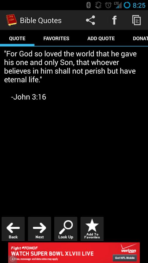 Bible Quotes - screenshot