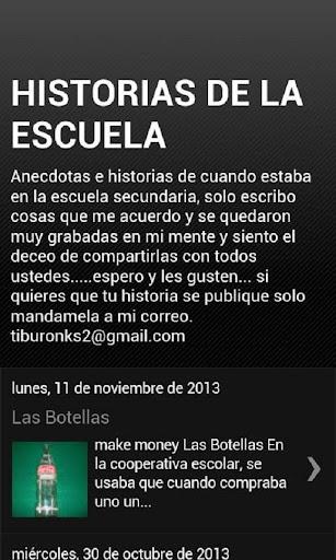 HISTORIAS DE LA SECUNDARIA