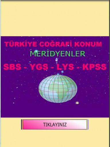 KPSS COĞRAFYA MERİDYENLER KOD