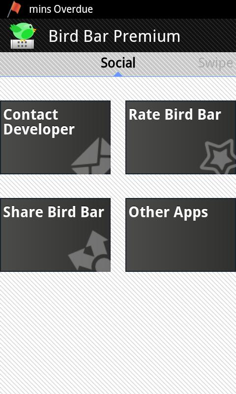 Bird Bar Premium Notifications - screenshot