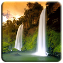 5D Cool Waterfall -bring shock icon