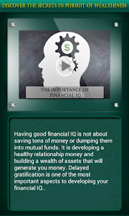 The Secrets of Wealthiness - screenshot thumbnail