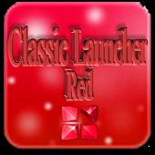 Red Classic Next Launcher 3D