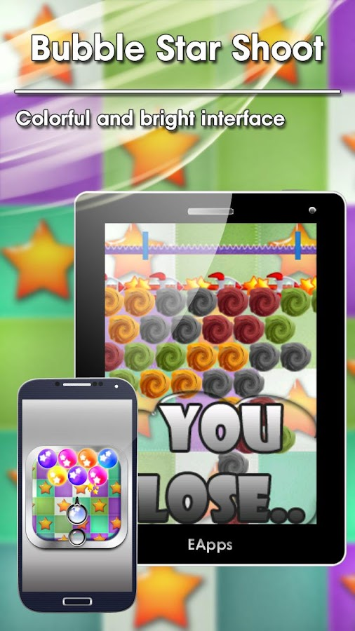 Bubble Star Shoot FREE - screenshot