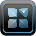 Next Launcher Theme iblue icon