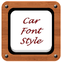 Best Car Font Style icon