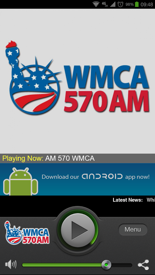 WMCA 570 - screenshot
