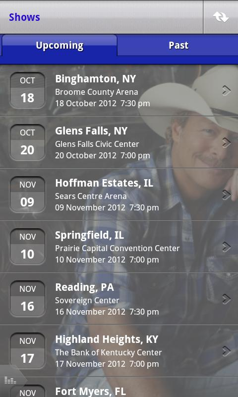 Official Alan Jackson App - screenshot