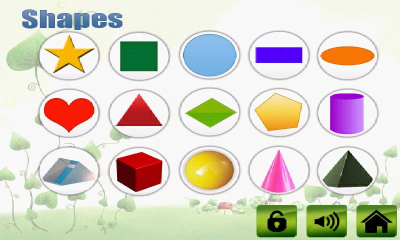 fruit veg shape color for kids screenshot - Color For Kid