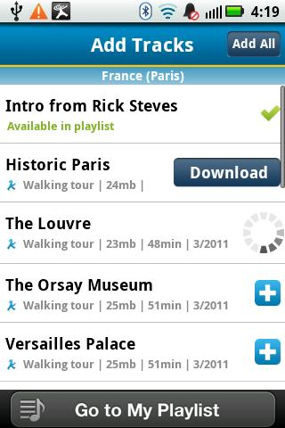 Rick Steves Audio Europe™ - screenshot