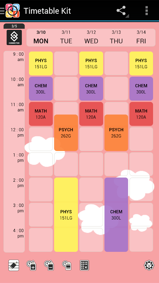 schedule maker class