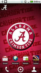 Alabama Revolving Wallpaper- screenshot thumbnail