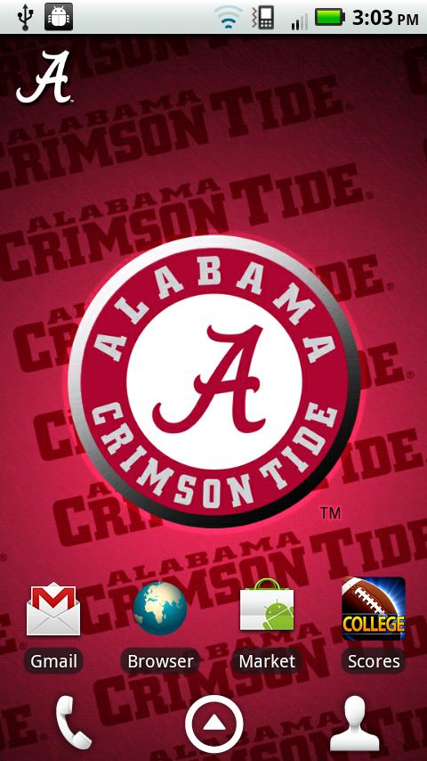 Alabama Revolving Wallpaper- screenshot