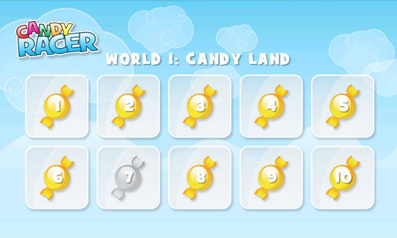 Candy Racer Full - screenshot