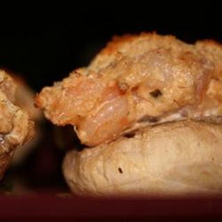 Amazing Shrimp Stuffed Mushrooms.