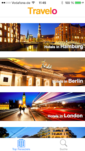 Travelo - Die Hotelsuche