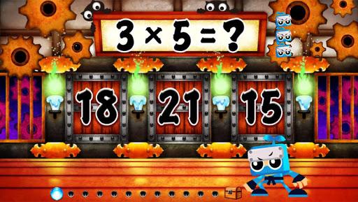 挑戰免費日本式的九九乘法表 孩子小學教育應用程式~算術忍者~