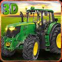 Real Farm Tractor Simulator 3D icon