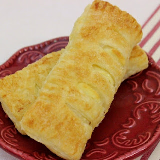 Cheese Filled Puff Pastries.
