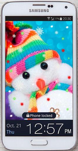 Snowman New Year 2015 LWP