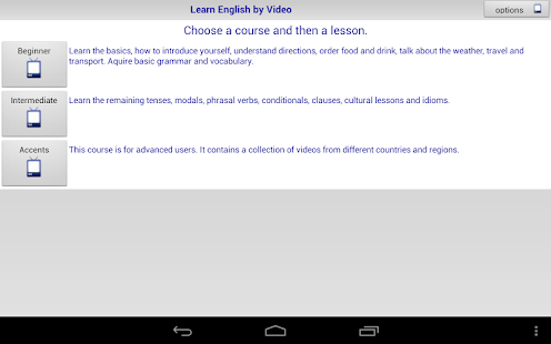 Learn English by Video - screenshot thumbnail