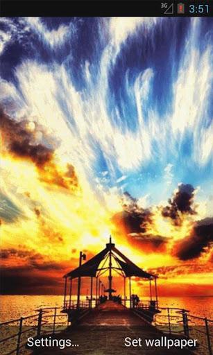 Magical Sunset Live Wallpaper