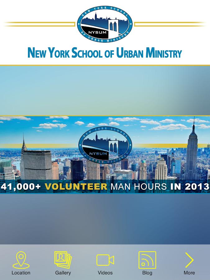 Rob Schenck New York School Of Urban Ministry
