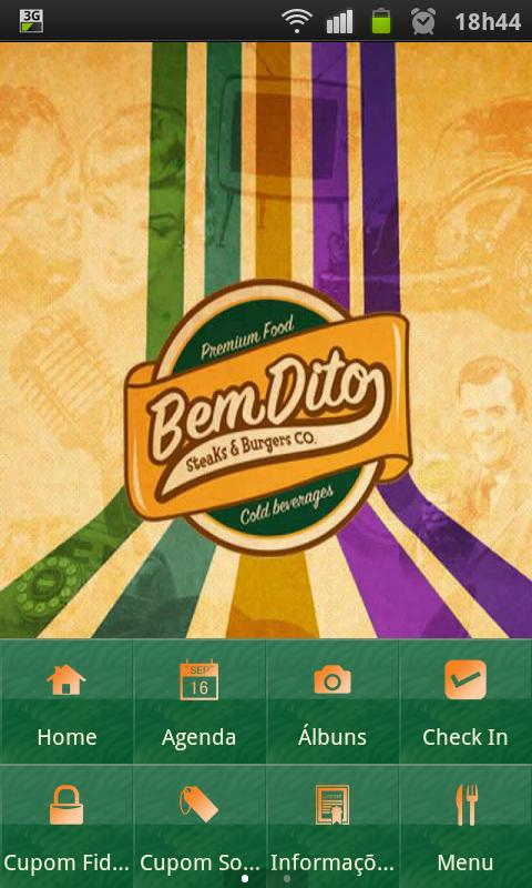BemDito Steaks & Burgers Co.: captura de tela