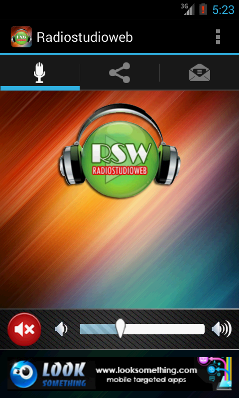 Radiostudioweb - screenshot