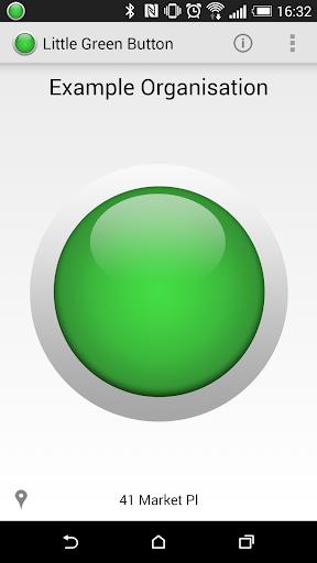 Little Green Button