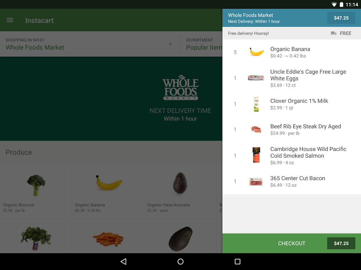 Instacart: Grocery Delivery- screenshot