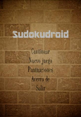 SUDOKUDROID sudoku vs tiempo