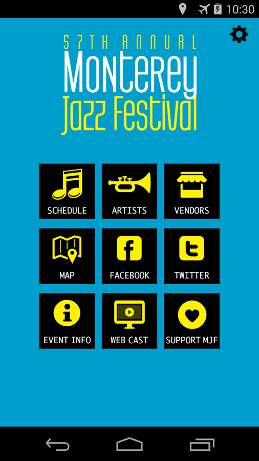 57th Monterey Jazz Festival - screenshot