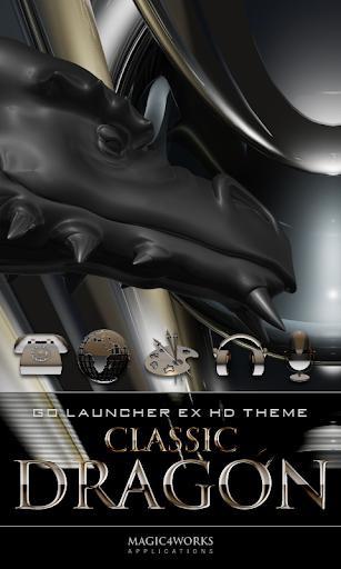 GO Launcher Theme Classic Drag