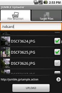 JUMBLE Uploader- screenshot thumbnail