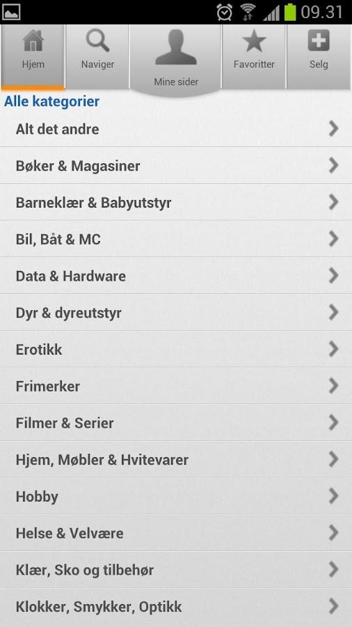 QXL.no- screenshot