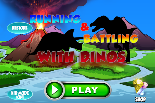 Cute Hunter Dino Run for Kids