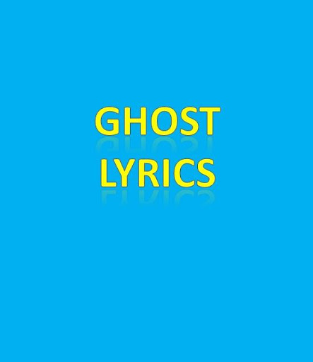 Ghost Lyrics