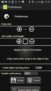 KWHotel Standard Mobile- screenshot thumbnail