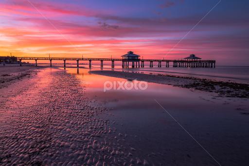 Sunrise between blue and golden hour | Sunsets & Sunrises