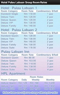 Hotel Pulau Labuan Group- screenshot thumbnail