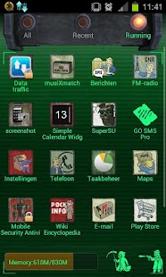 Fallout Theme Go Launcher Ex - screenshot thumbnail