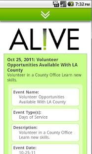AL!VE - Volunteer Engagement- screenshot thumbnail
