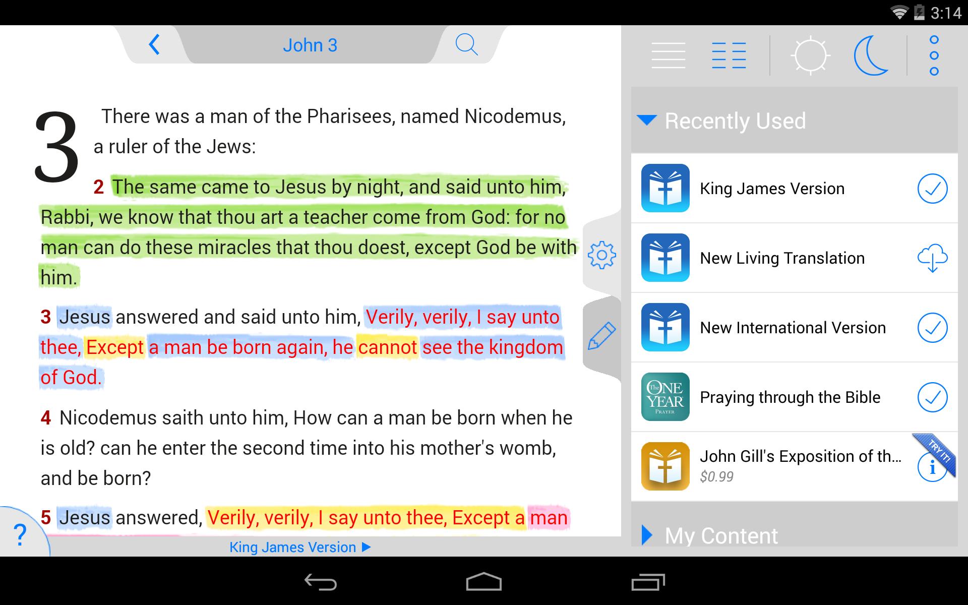 NKJV Bible screenshot #18