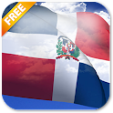 3D Dominican Flag LWP icon