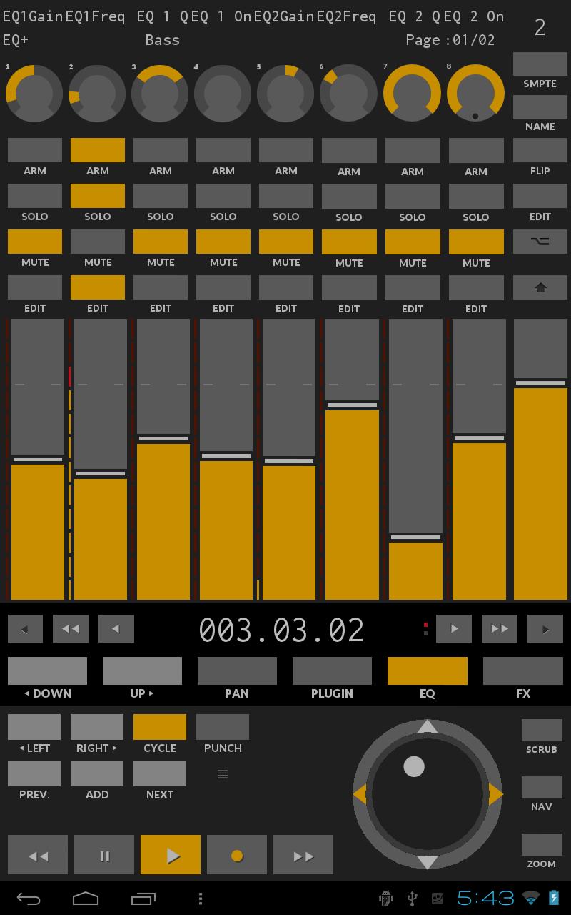 TouchDAW Screenshot 9