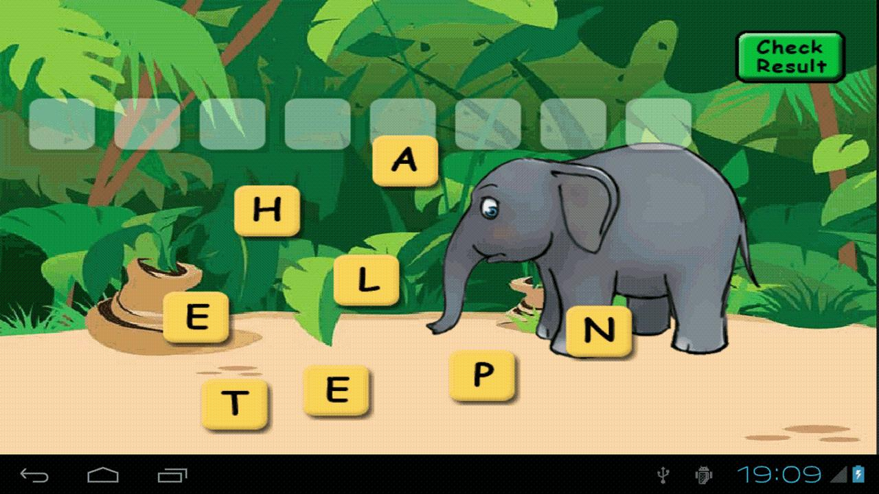 Animal Scrabble- screenshot