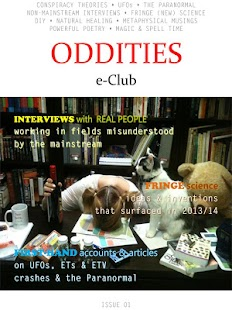 Oddities e-Club Magazine- screenshot thumbnail